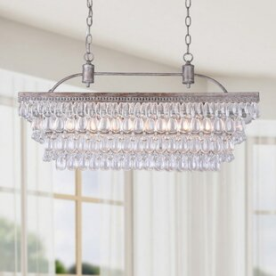Crystal pendants youll love wayfair mckinsey 6 light crystal pendant mozeypictures Gallery