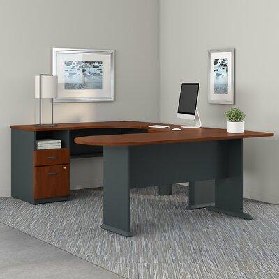 extra long desk table for two wayfair. Black Bedroom Furniture Sets. Home Design Ideas