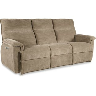 Jay La Z Time® Power Recline With Power Headrest Full Reclining Sofa