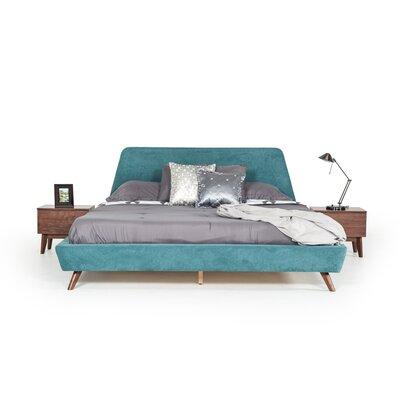 Drumnacole Upholstered Platform Bed Corrigan Studio Size: King