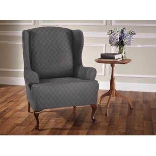 slip cover for wingback chair wayfair