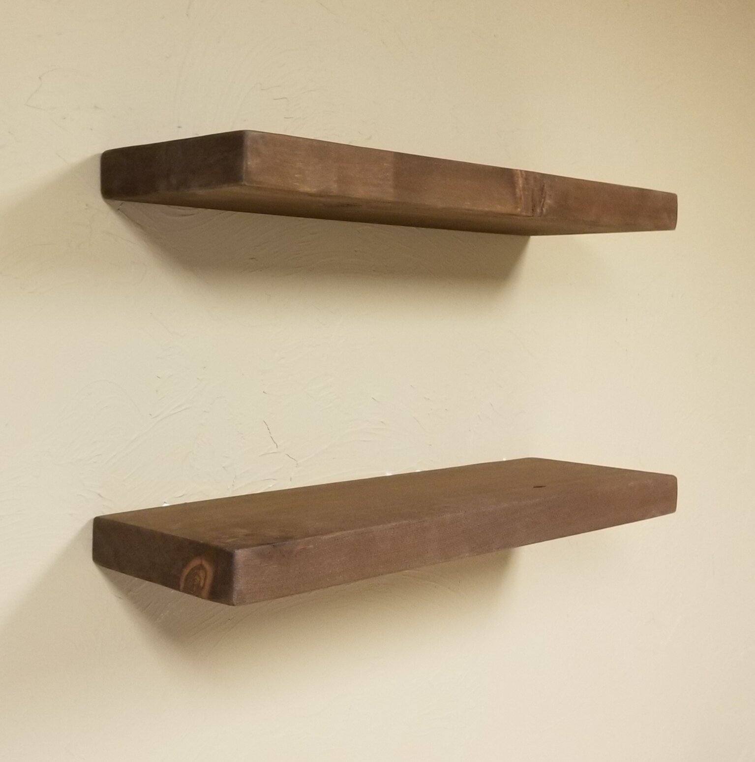 Tatianna Wood Floating Shelf