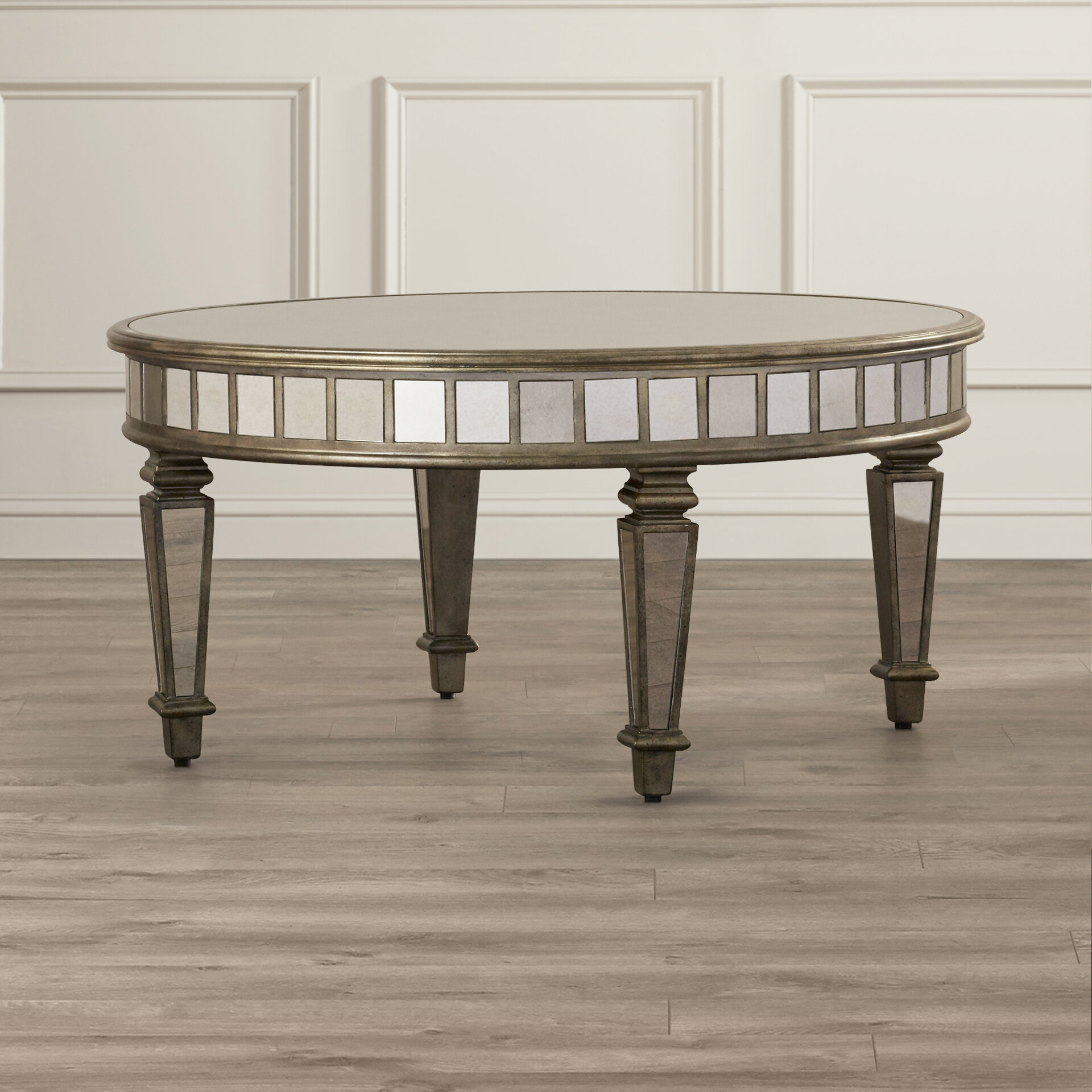 Mercer41 Gestel Mirrored Coffee Table & Reviews
