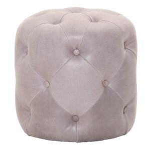 Patina Oly Leather Ottoman by Orient Express Furniture