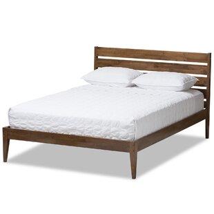 modern platform bed. Kyler Mid-Century Modern Platform Bed