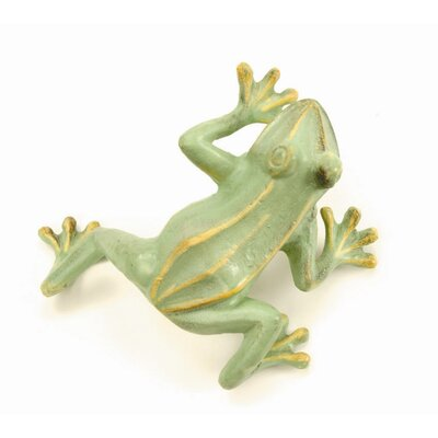 ACHLA Jumping Frog Statue