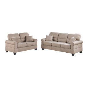 Boyster 2 Piece Living Room Set by Cha..