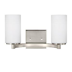 Burnley 100W 2-Light Vanity Light