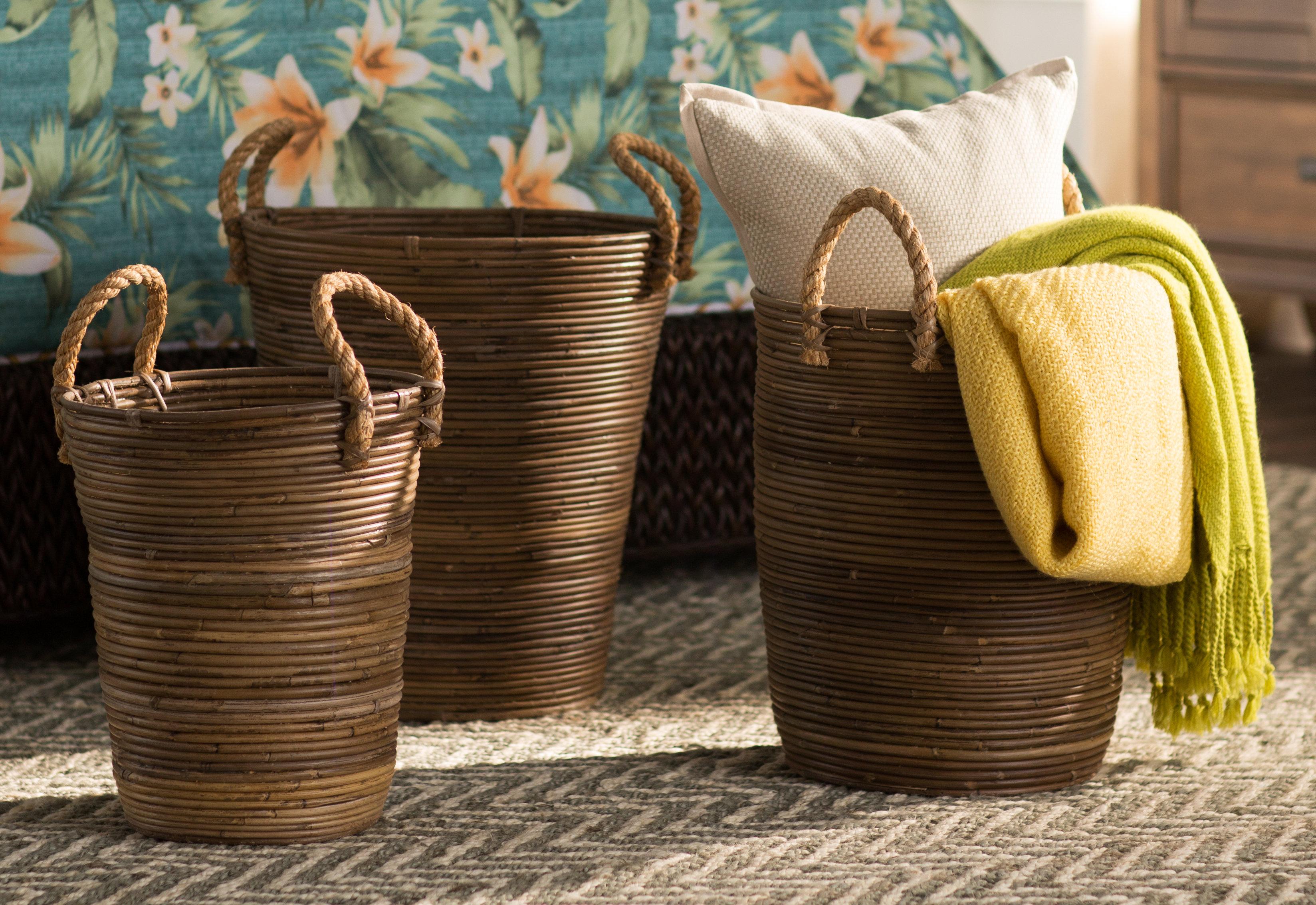 Incroyable Beachcrest Home 3 Piece Storage Basket Set U0026 Reviews | Wayfair