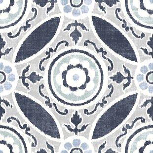 Sienna 60.96 x 152.4cm Vinyl Field Tile in Blue (Set of 10) by Hokku Designs