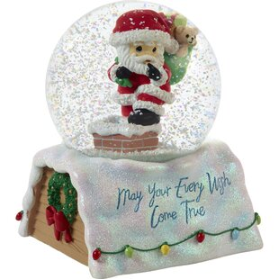 Musical Lighted Snow Globes