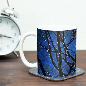 Holiday Lights by Sylvia Cook 11 oz. Christmas Ceramic Coffee Mug