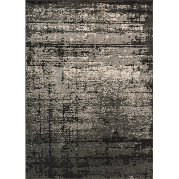 Trent Austin Design Coolidge Modern Distressed Gray Area