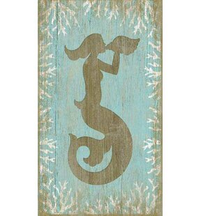 Delicieux U0027Wood Mermaidu0027 Graphic Art Plaque