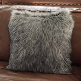 d53446399db4 Alcide Fox Faux Fur Throw Pillow
