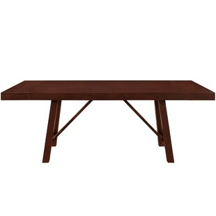 Modern Contemporary Dining Table Solid Wood AllModern - 72 trestle dining table
