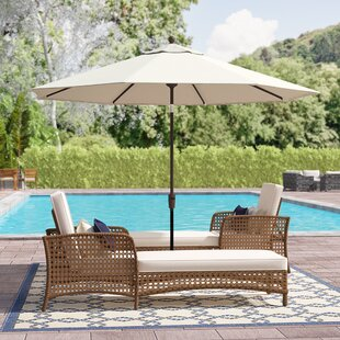 Patio Sets With Umbrella Wayfair