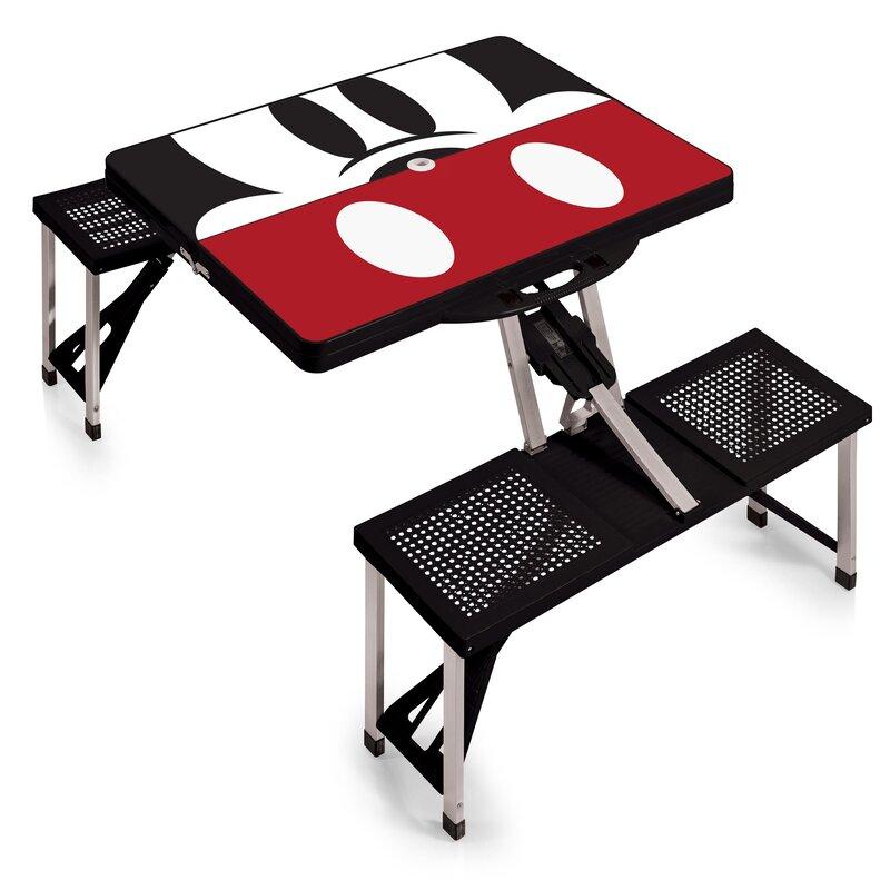 Oniva mickey mouse folding aluminum camping table wayfair mickey mouse folding aluminum camping table watchthetrailerfo