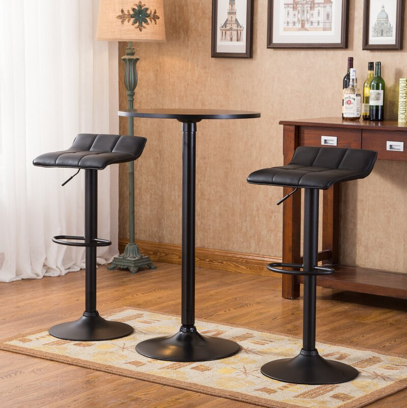 Yoder 3 piece round pub table set reviews allmodern for Cie publication 85 table 2