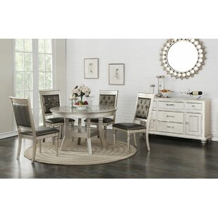 Blumer Glass 5 Piece Dining Set