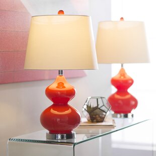 Glass clear table lamps youll love wayfair save aloadofball Choice Image