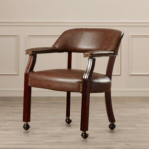 Mcbride Arm ChairKitchen   Dining Chairs with Casters   Wayfair. Dining Room Table With Caster Chairs. Home Design Ideas