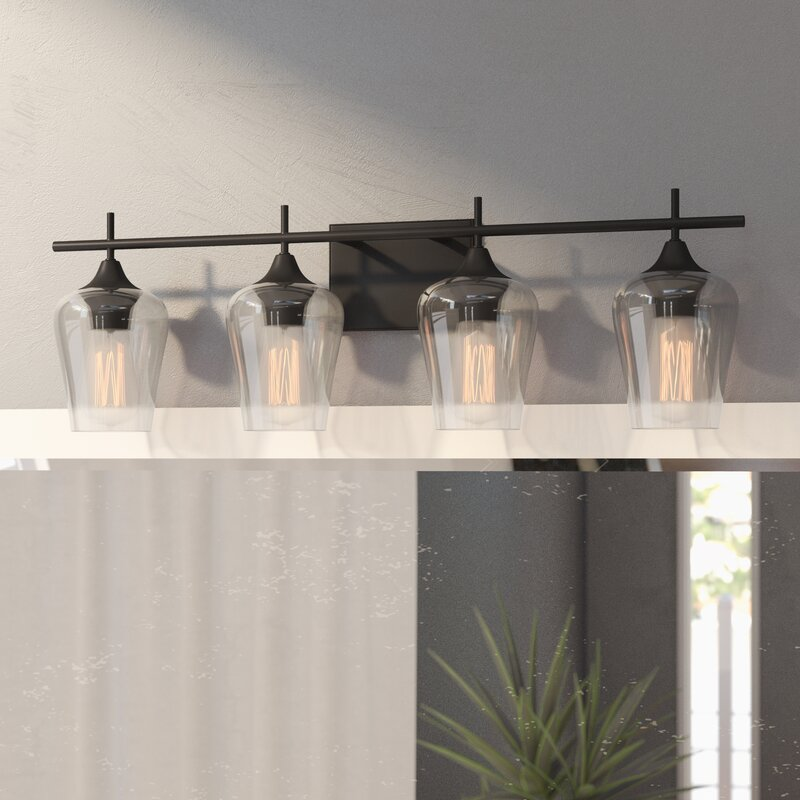 Hickerson 4-Light Vanity Light & Reviews | AllModern