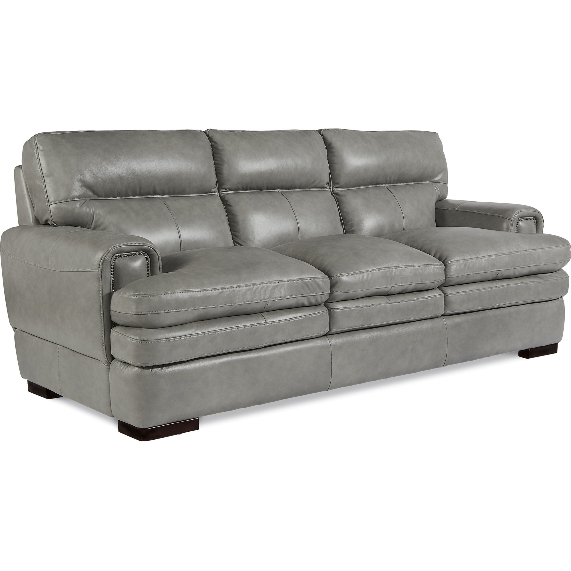 La Z Boy Jake Leather Sofa & Reviews