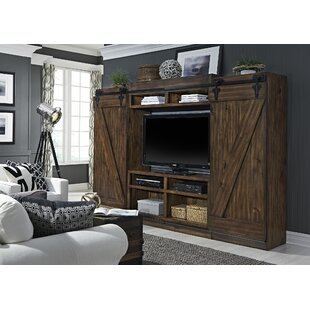 bedroom entertainment center sliding barn door media center wayfair 10428