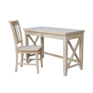Dishner Desk And Chair Set