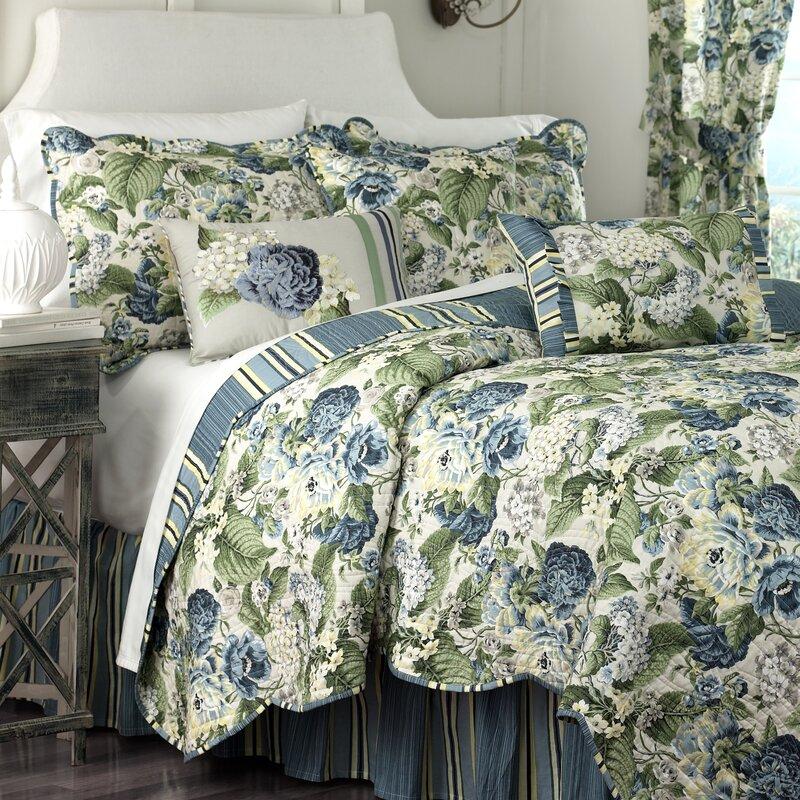 Waverly Floral Flourish Reversible Quilt Set Amp Reviews