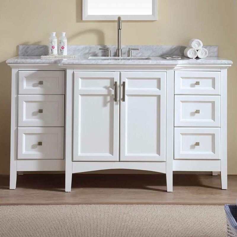 Bathroom Vanity Set. Carpenter 60  Single Bathroom Vanity Set Reviews Joss Main