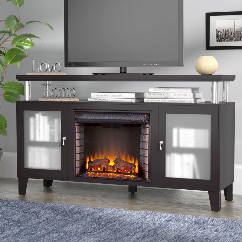 Red Barrel Studio Yalobusha 60 TV Stand with Fireplace Reviews