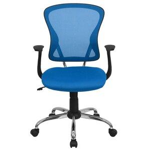 blue office chairs you'll love | wayfair