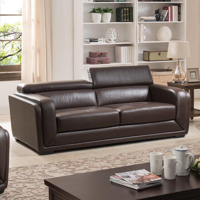 Calvin Leather Sofa
