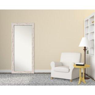 Islip Whitewash Floor/Wall Mirror