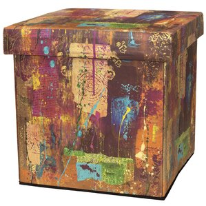 India by Gita Storage Ottoman by Oriental Furniture