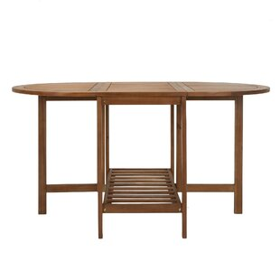 Fairmead Outdoor Folding Wood Dining Table