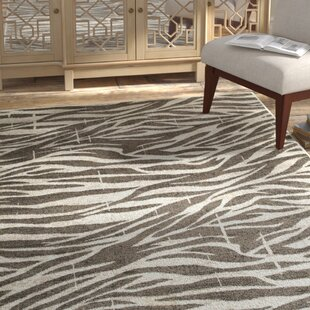 Affordable Price Wali White/Coconut Hush Indoor Area Rug By Bloomsbury Market
