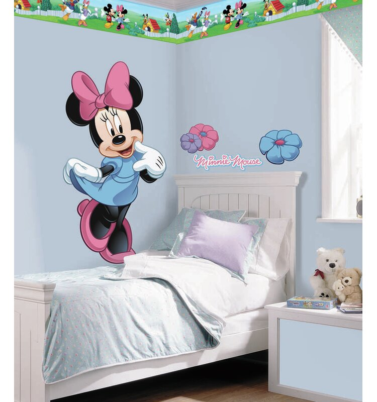 Wallhogs Disney Mickey And Friends Minnie Mouse Room Makeover Wall Decal Wayfair