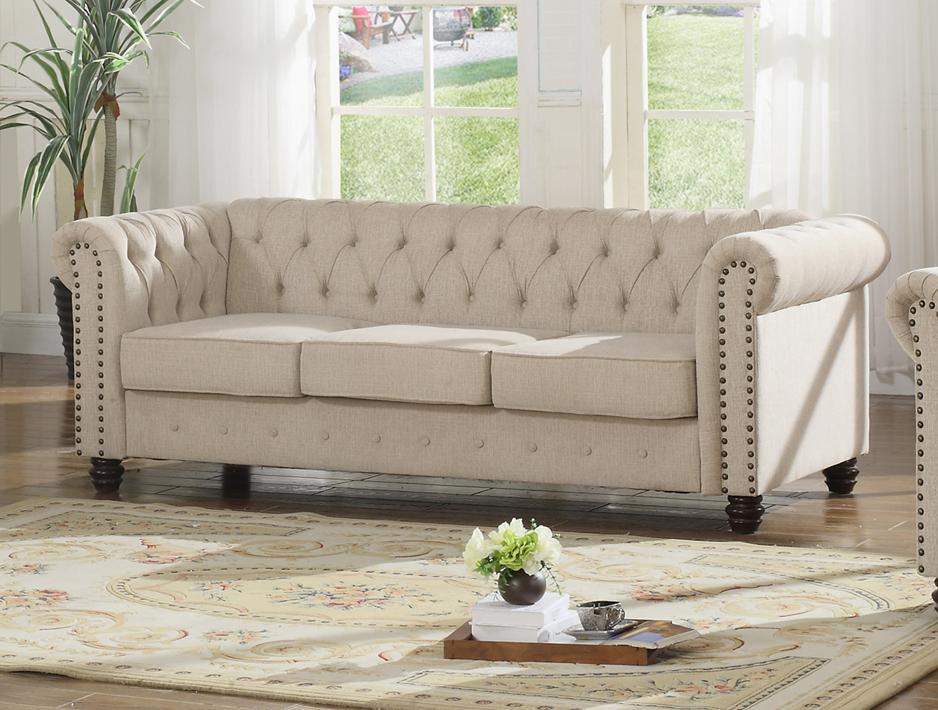 Sharniece modern sofa reviews wayfair