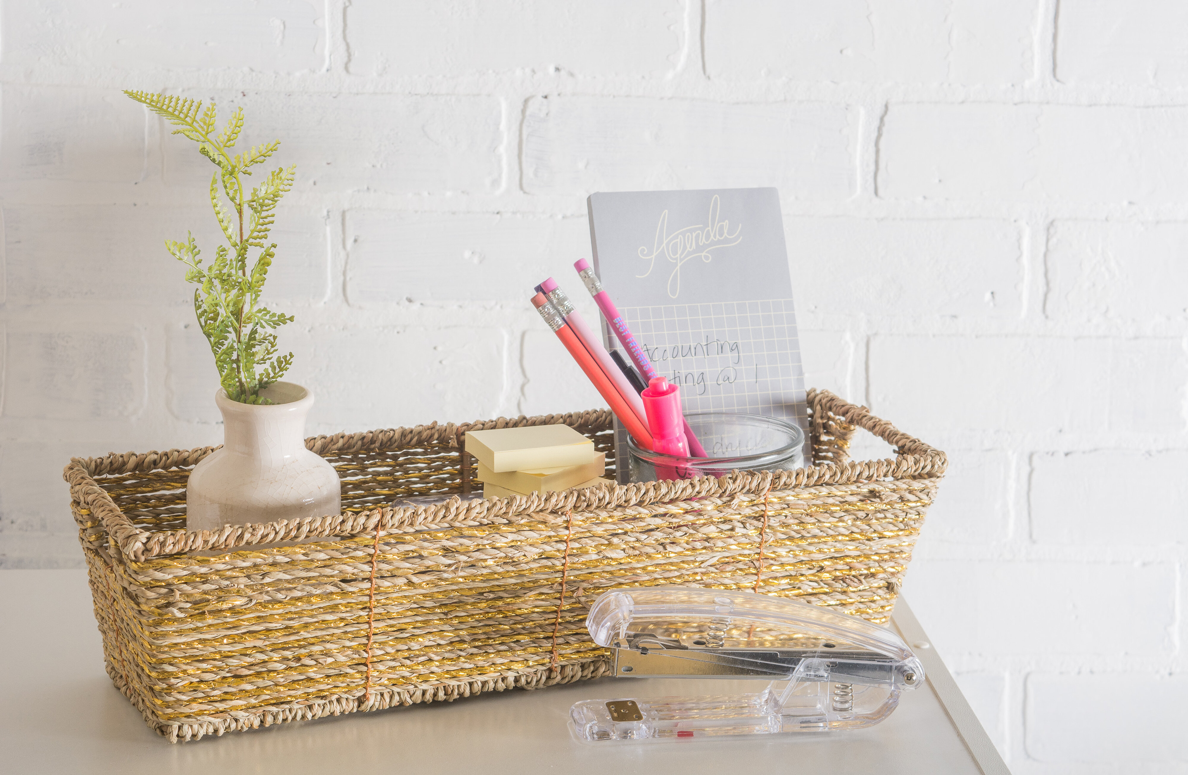 Highland Dunes Seagrass Wicker Basket | Wayfair