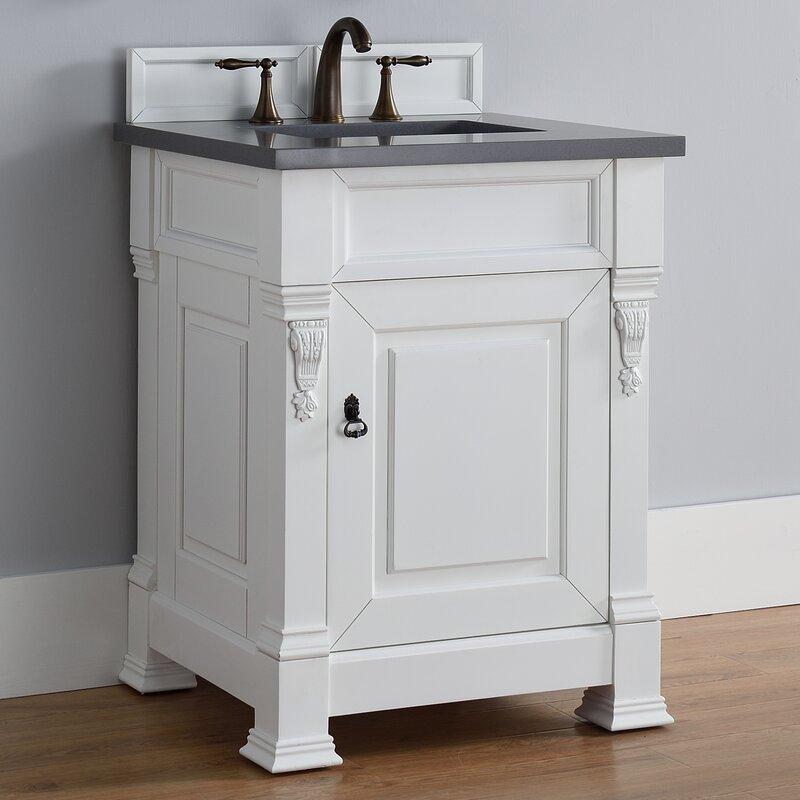 darby home co vivanco 26 single bathroom vanity set wayfair rh wayfair com 26 rustic bathroom vanity 26 bathroom vanity with top