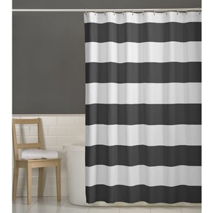 Brown And Gray Shower Curtain. Save to Idea Board  Gray Silver Shower Curtains You ll Love Wayfair