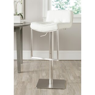 Raguel Adjustable Height Swivel Bar Stool