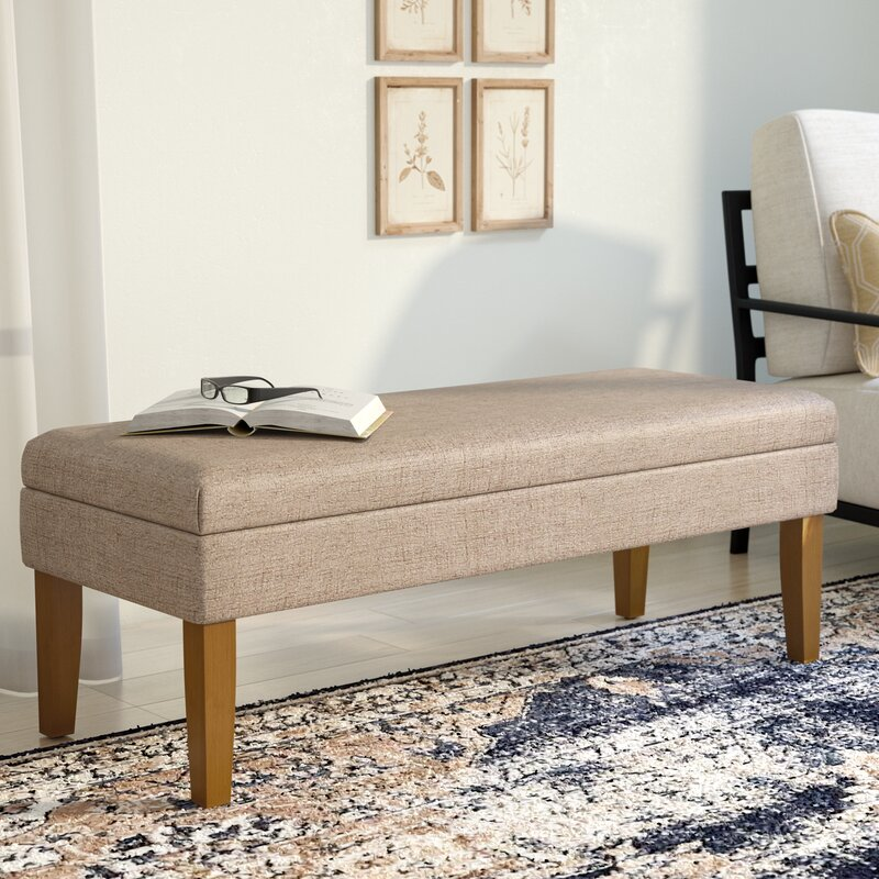 Alpharetta Upholstered Storage Bench