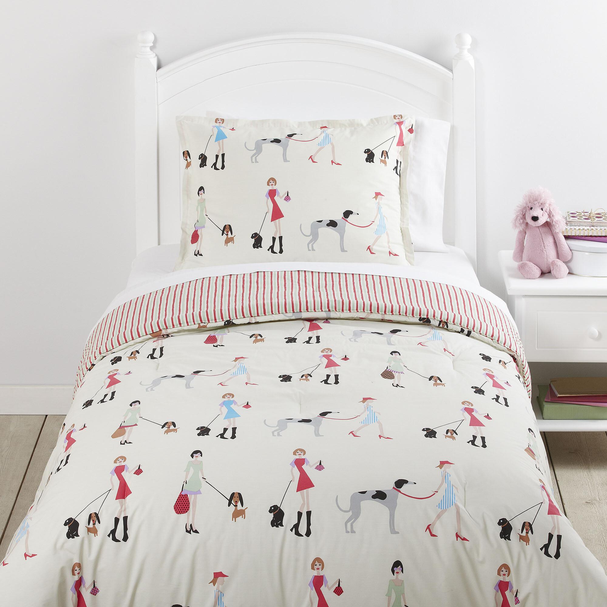 Birch Lane Kids™ Fun Unleashed Reversible Comforter Set U0026 Reviews | Birch  Lane