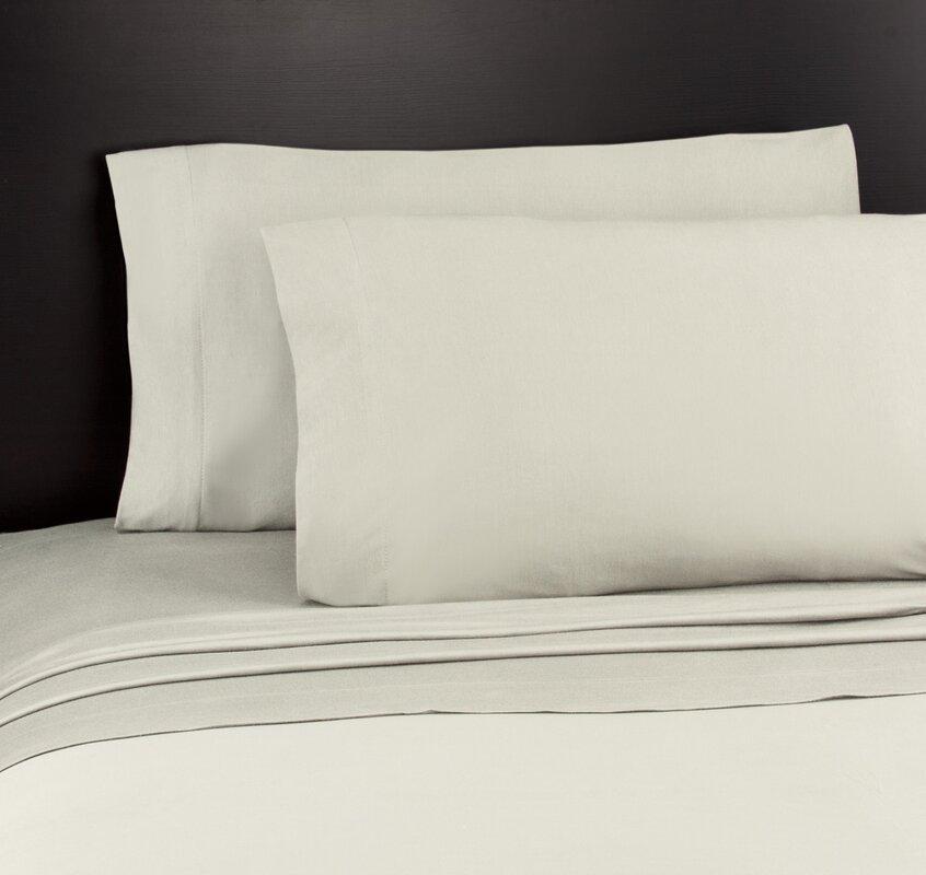 Royale Linens SoftTees Jersey Knit Sheet Set & Reviews ...