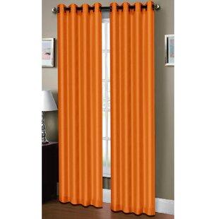 Burnt Orange Curtains   Wayfair