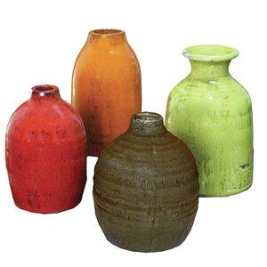 Parisian 4 Piece Table Vase Set